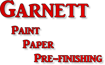 Garnett Paint Paper and Pre-finishing